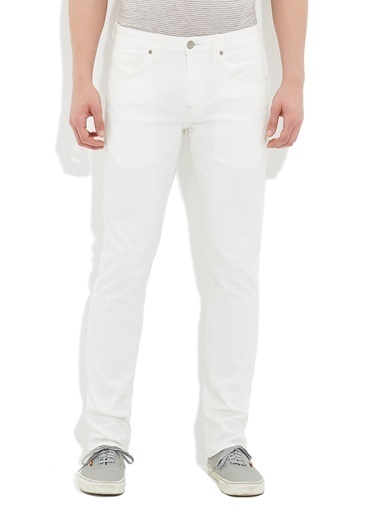 Mavi Jean Pantolon | Marcus - Slim Beyaz